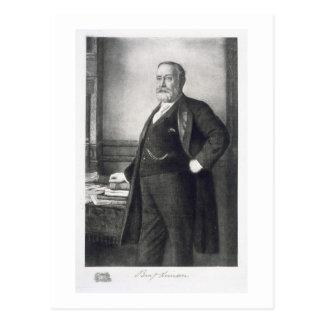 Carte Postale Benjamin Harrison (1833-1901), 23ème président de