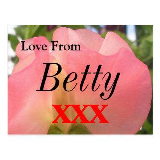 Carte Postale Betty