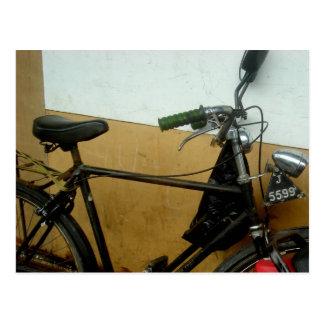 Carte Postale bicyclette