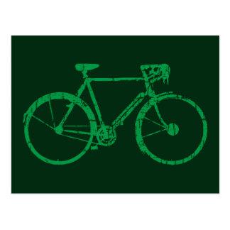 Carte Postale bicyclette intéressante. faire du vélo.