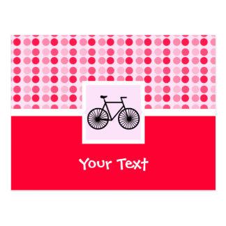 Carte Postale Bicyclette mignonne