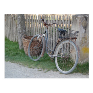 Carte Postale Bicyclette vintage