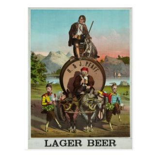 Carte Postale Bière !