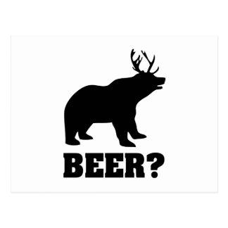 Carte Postale Bière ?