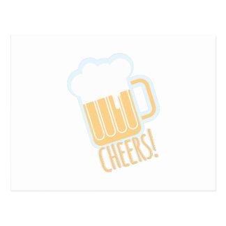 Carte Postale Bière d'acclamations