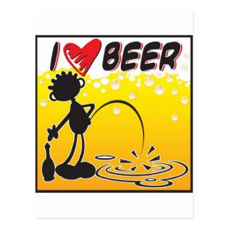 Carte Postale Bière d'amour de Blacky I