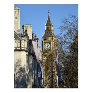 Carte Postale Big Ben - Londres