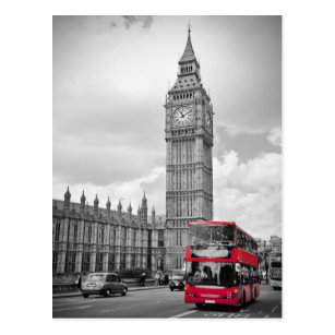 Carte Postale Big Ben Londres