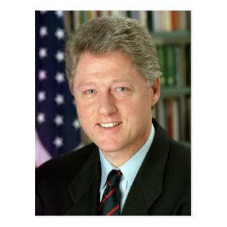 Carte Postale Bill Clinton