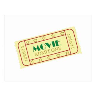 Carte Postale Billets de film