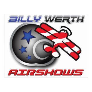 Carte Postale Billy Werth Airshows