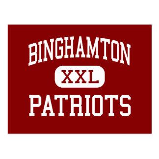 Carte Postale Binghamton - patriotes - haut - Binghamton New