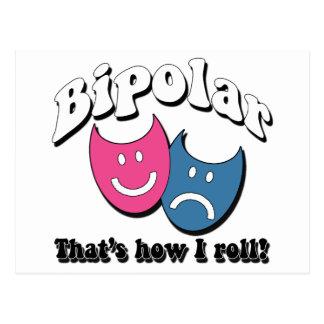 Carte Postale Bipolaire : C'est comment je roule