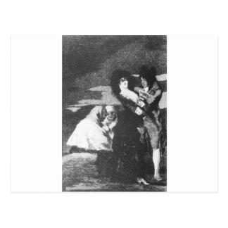 Carte Postale Birds of a Feather par Francisco Goya