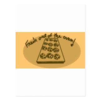 Carte Postale biscuits Frais-cuits au four !