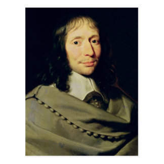 Carte Postale Blaise Pascal