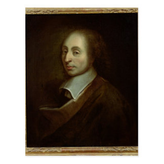 Carte Postale Blaise Pascal c.1691