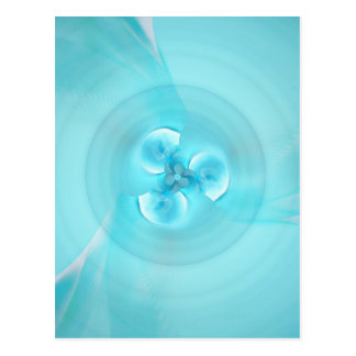 Carte Postale Bleu-clair de shui de Feng créé par Tutti