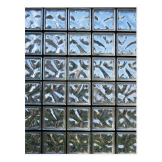 Carte Postale Blocs en verre