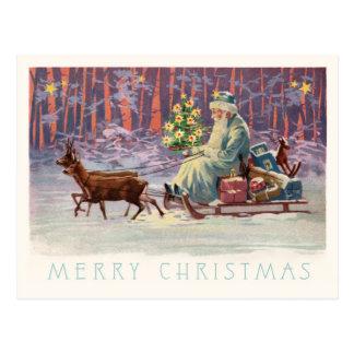 Carte Postale Bois Père Noël de Vienne