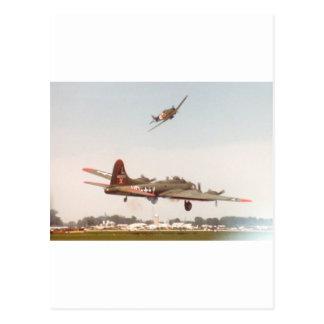 Carte Postale Bombardier B-17