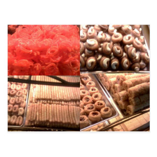 Carte Postale Bonbons arabes