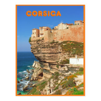 Carte Postale Bonifacio, Corse, France