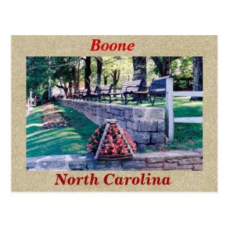 Carte Postale Boone la Caroline du Nord