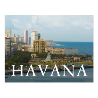 Carte Postale Bord de mer de La Havane, Cuba