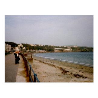 Carte Postale Bord de mer, Douglas, île de Man