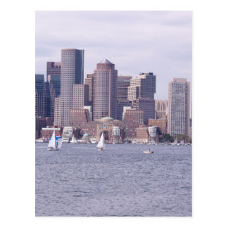 Carte Postale Boston