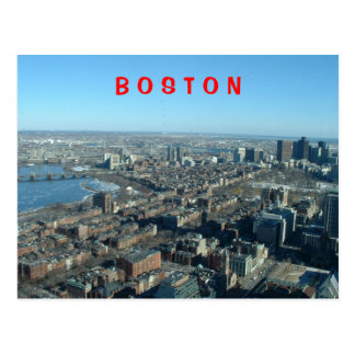 Carte Postale Boston
