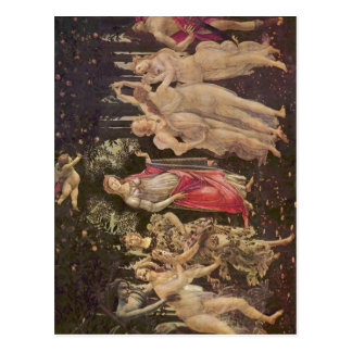 Carte Postale Botticelli, Sandro franc ? hling (Primavera) :  um