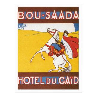 Carte Postale Bou vintage Saada Algérie