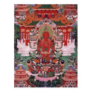 Carte Postale Bouddha Amitayus