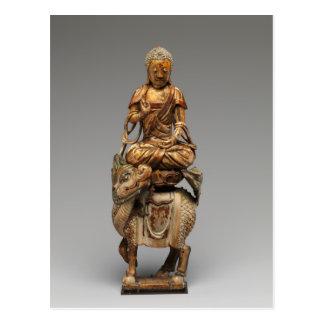 Carte Postale Bouddha Shakyamuni avec des bodhisattvas propres