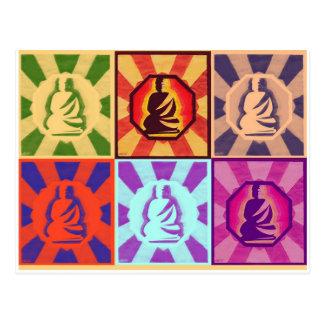 Carte Postale Bouddha -- Style d'art de bruit