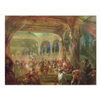 Carte Postale Boule à l'opéra De Paris