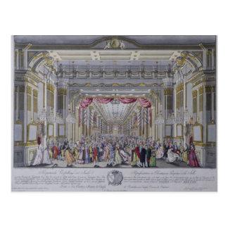 Carte Postale Boule suivant le couronnement de Leopold