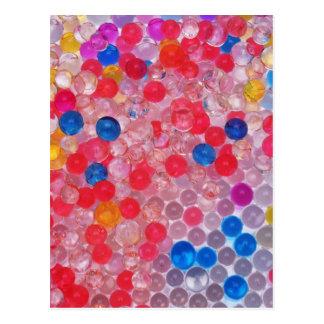 Carte Postale boules transparentes de l'eau