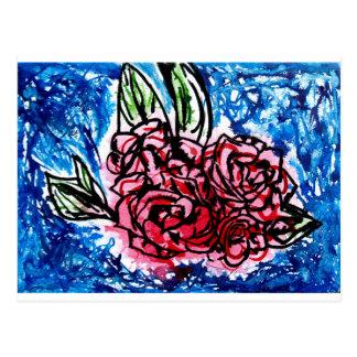 Carte Postale Bouquet