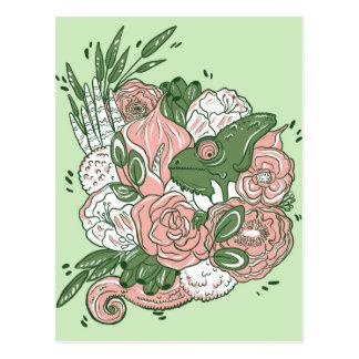 Carte Postale Bouquet de caméléon