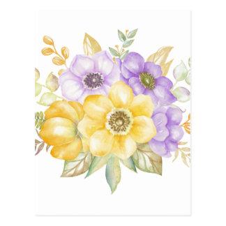 Carte Postale Bouquet d'été