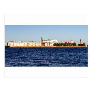 Carte Postale Bourse des valeurs de vieux St Petersbourg