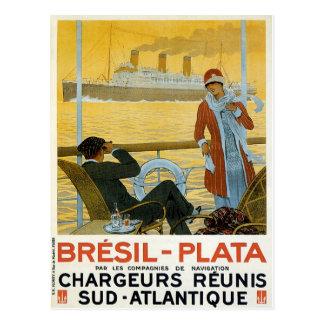 Carte Postale Bresil - Plata