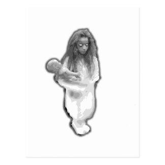 Carte Postale Brésilienne de petite fille de polisson de fantôme