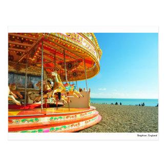 Carte Postale Brighton, Angleterre