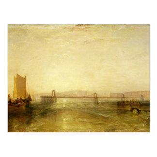 Carte Postale Brighton de la mer, c.1829