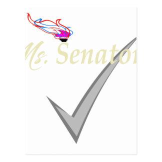 Carte Postale BRITE de Mme le sénateur