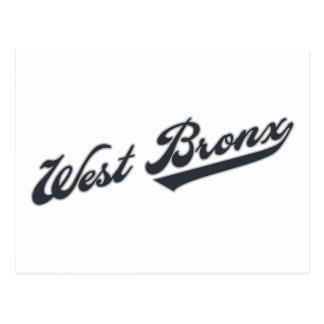 Carte Postale Bronx occidental